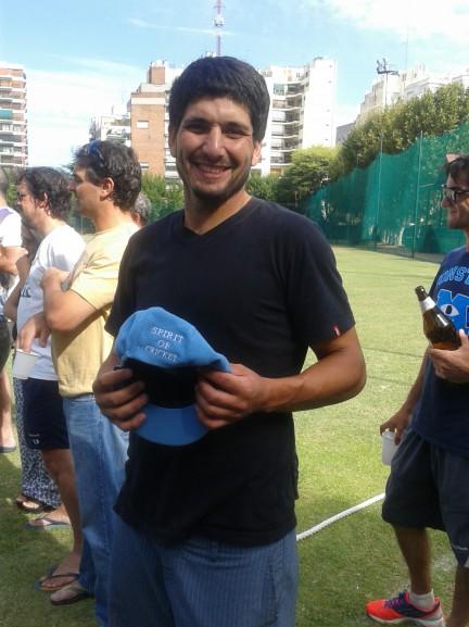 D. Mauro fue destacado con el Spirit Of Cricket Award